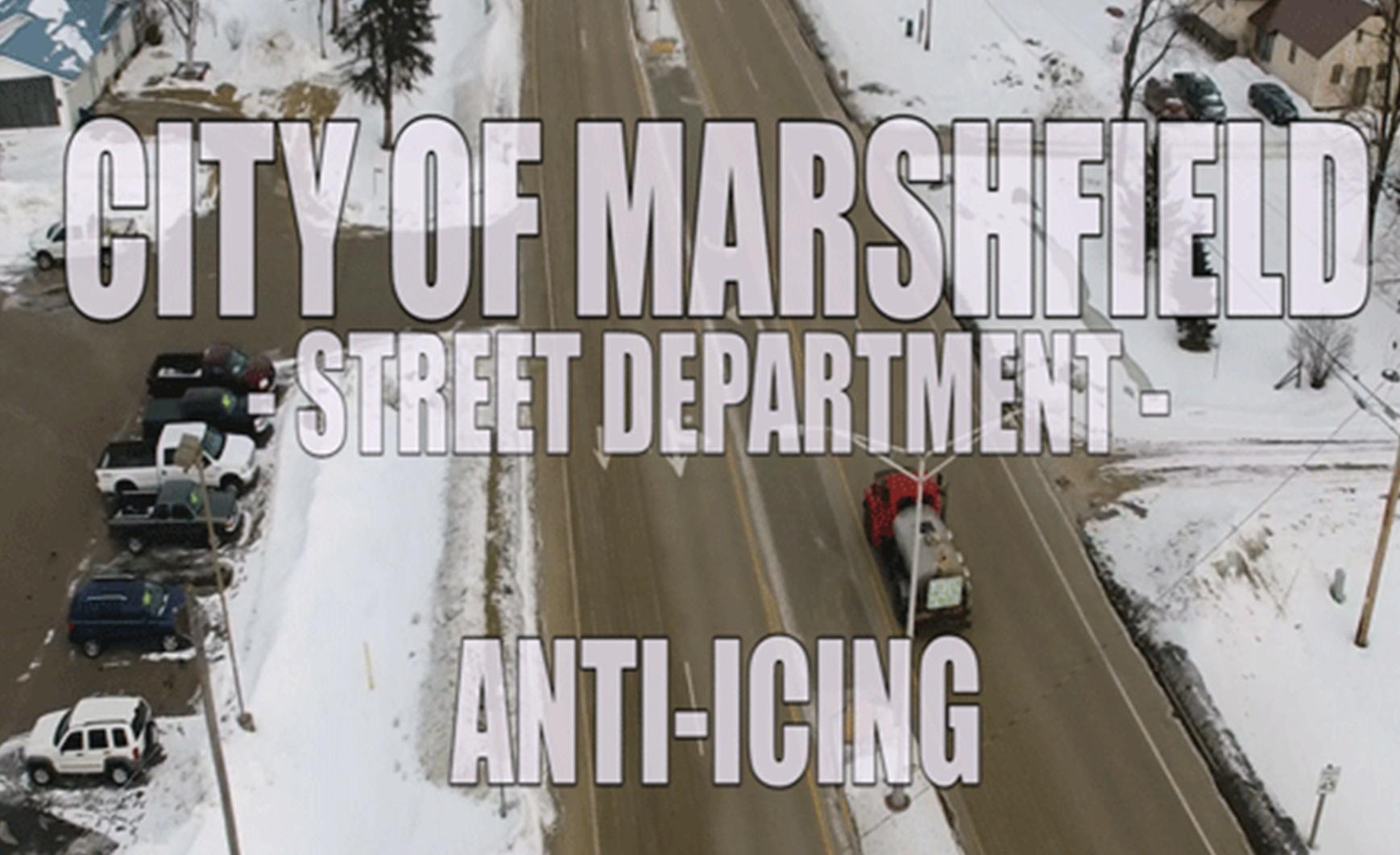 Anti-Icing in Marshfield, WI