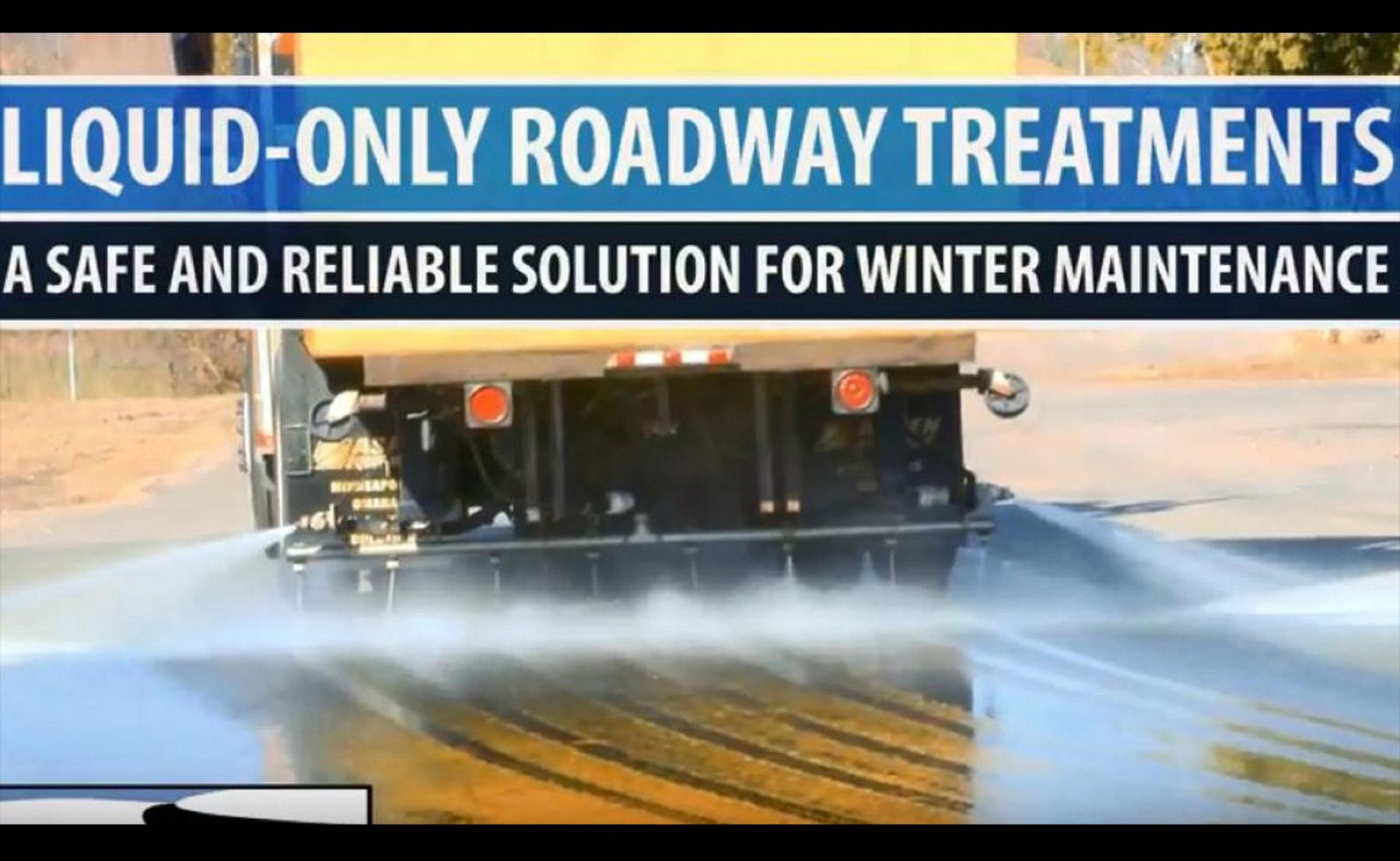 Liquid Salt Brine as a Winter Maintenance Tool